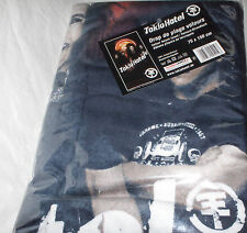 Tokio Hotel - Strandtuch,ca.75x150cm, mit Bandfoto,schwarz-Neu,OVP,Lizenzware