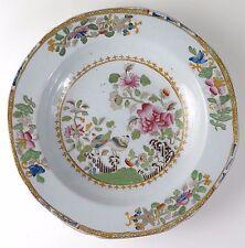 """Porcelana Inglesa """"Japón China"""" plato de piedra con patrón de pavo real"""