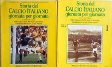 STORIA DEL CALCIO ITALIANO GIORNATA PER GIORNATA N.1 NEWTON COMPTON + PUBBLICITA