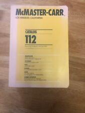 McMaster-Carr Catalog 112 Los Angeles