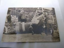 Incredible Ww2 Chinese Pilot with Crashed Wreckage of Japanese Zero Photograph