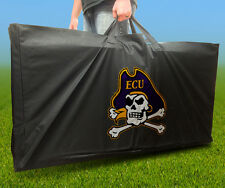 East Carolina Pirates Licensed Cornhole Board Carrying Case Storage Carry Bag