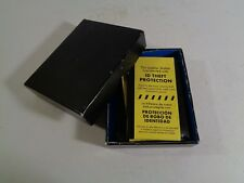 New black leather theft protection tri-fold men's wallet G4