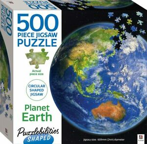 Puzzlebilities Shaped 500 Piece Jigsaw Puzzle: Planet Earth