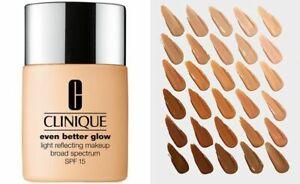 Clinique Even Better Glow Light Reflecting Makeup 1.0 FL OZ SPF 15 CHOOSE SHADE