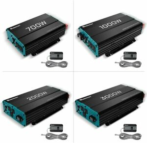 700W-3000W 12V Pure Sine Wave Inverter 3000 Watt Solar Power Battery Converter