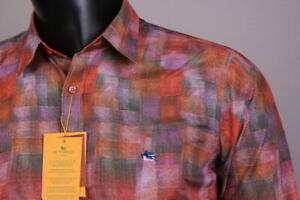 Brand New   Slim Fit  Etro  Multi color Men's Shirt Size-XXL