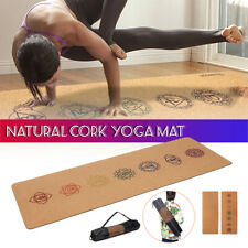 Faltbare Fitnessmatte Yoga Pilates Meditation Rutschfest Entspannung Homeworkout