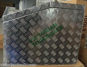 1200x600x500 mm Heavy duty Aluminium Toolbox Top Open Ute Trailer Truck  box