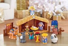 Fisher Price Little People Children's Nativity Set 1st Christmas 11 Pieces NEW
