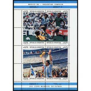 "SOCCER-DIEGO MARODANA-1986-ARGENTINA-WORLD CUP CHAMPION ""MÉXICO´86""-MNH"