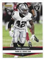 2016 Panini Instant NFL All-Rookie Team Karl Joseph Rookie Card - 1 of 335