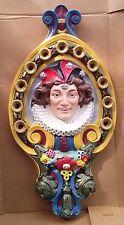 Carousel Jester Head Dentzel Shield Rounding Board