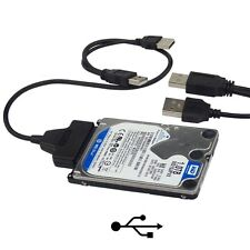 """USB 2.0 To SATA Converter Adapter Cable For 2.5"""" Hard Drive Disk HDD Laptop US"""