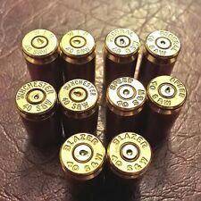 40cal brass bullet casing neodymium magnets. Set of 10.