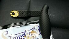 Studio Composite Jigging Handle RC-SJ 95/105 - GOLD - Carbon Fiber Shimano Daiwa