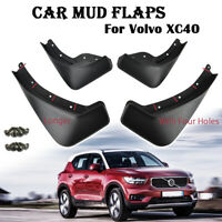 Mudguards Front Rear For Volvo XC40 2017-2019 Mud Flaps Splash Guards Mudflaps