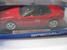 1:18 Maisto Ferrari California T Convertible  Diecast Car RED