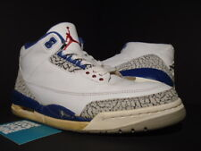 2001 NIKE AIR JORDAN III 3 RETRO WHITE TRUE BLUE CEMENT GREY OG 136064-141 9
