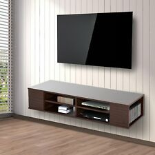 Homcom Floating TV Stand Cabinet Wall Mounted Entertainment Center Console