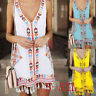 Tassel Casual Print Sleeveless Beach Mini Dress Women Bohemia  Summer Fashion