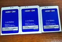 Original HT17 HT7 HT3 3000mAh Battery For HOMTOM HT17 HT7 HT3 / Pro Warranty