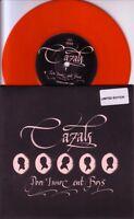 "CAZALS - POOR INNOCENT BOYS - LIMITED EDITION 7"" RED VINYL SINGLE - MINT"