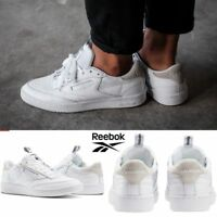 Reebok Classic Club C 85 IT Shoes Sneakers White BS6212 SZ 4-12.5