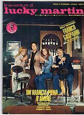 fotoromanzo LE AVVENTURE DI LUCKY MARTIN ANNO 1975 NUMERO 82 GASPARRI KATIUSCIA