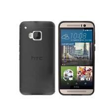 Cover per HTC One M9, in silicone TPU trasparente Nero