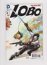 DC Comics! Lobo! Issue 1! New 52!