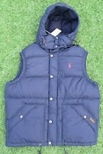New Polo Ralph Lauren Men's Navy Down Elmwood Gilet Bodywarmer Vest - XXL Tags