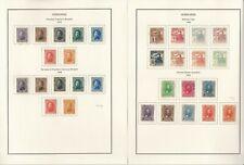 Honduras Sammlung 1865-1980 in Scott Spezialität Album, Binder, Dustcase