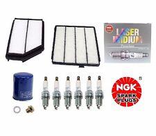 Tune-Up Kit Air,Cabin,Oil NGK Platinum Spark Plugs Acura MDX Honda Pilot