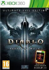 DIABLO III 3 ULTIMATE EVIL EDITION XBOX 360 VERSION ESPAÑOL NUEVO PRECINTADO