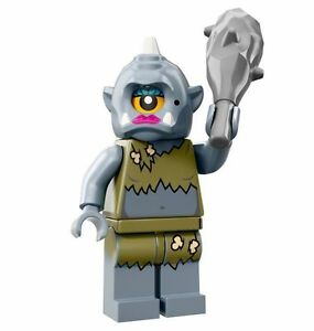 LEGO Minifigures Series 13 Lady Cyclops monster with club - suit castle sets