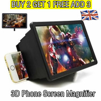 Universal Mobile Phone Screen 3D Magnifier Foldable Amplifier Video SmartPhone