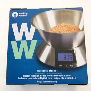 NEW Weight Watchers SmartPoints Food Kitchen Scale Healthy Kitchen Digital 2 pc