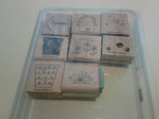 Stampin Up Fun Filled Rubber Stamp Set 2005 , Basket, Bday, Spring, Shopping