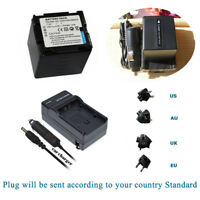 Charger+ 2300mAH Battery for Panasonic CGA-DU21 NV-GS400 NV-GS VDR series