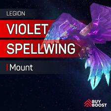 ⭐ Violet Spellwing - Argus Heroic - Antorus Raid Boost [EU] WoW Legion Mount