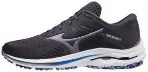 Mizuno Wave Inspire 17 Mens Running Shoes Black Grey