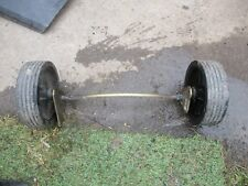 lawnking pa504 front axle and wheels