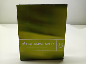 Macromedia Dreamweaver 8 Software Win/Mac CD Education with Serial Number