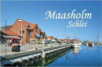 Maasholm an der Schlei Ferienort Germany Foto Magnet Reise Souvenir,Neu