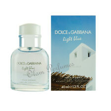 Dolce & Gabbana Light Blue Living Stromboli For Men Edt. Spray 1.3oz 40ml * New
