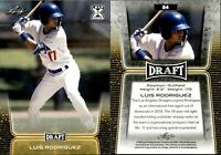 """LUIS RODRIGUEZ 2020 LEAF """"Gold"""" PARALLEL LIMITED ROOKIE CARD #24!"""