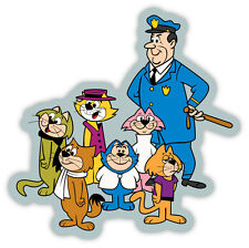 "Top Cat and the gang sticker decal 4"" x 4"""
