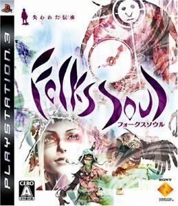 PS3 FolksSoul: Ushinawareta Denshou Folklore Japan PlayStation 3