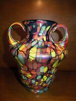 Fenton Mosaic Centennial Vase by Dave Fetty Limited Ed. #449
